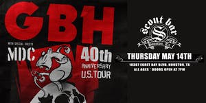 GBH  - 40th Anniversary U.S Tour
