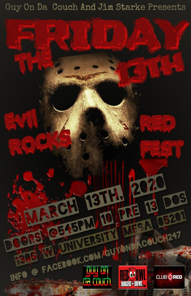 Evil Rocks Red Fest