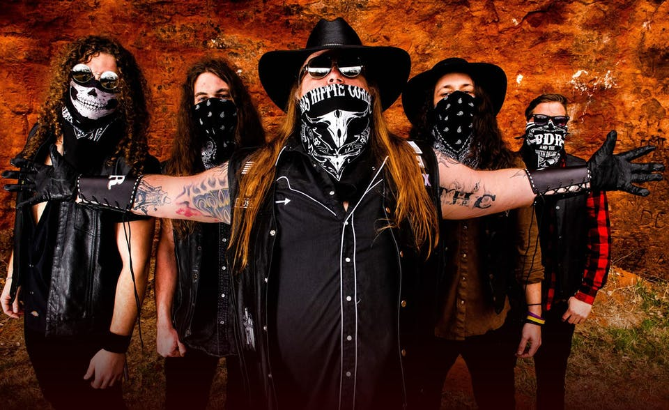 "Texas Hippie Coalition ""Hwy 420 Tour"" at  Moxi Theater"