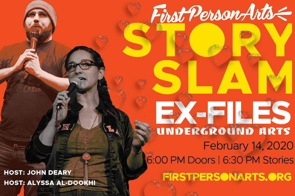First Person Arts' 10th Annual StorySlam Ex-Files LATE SHOW