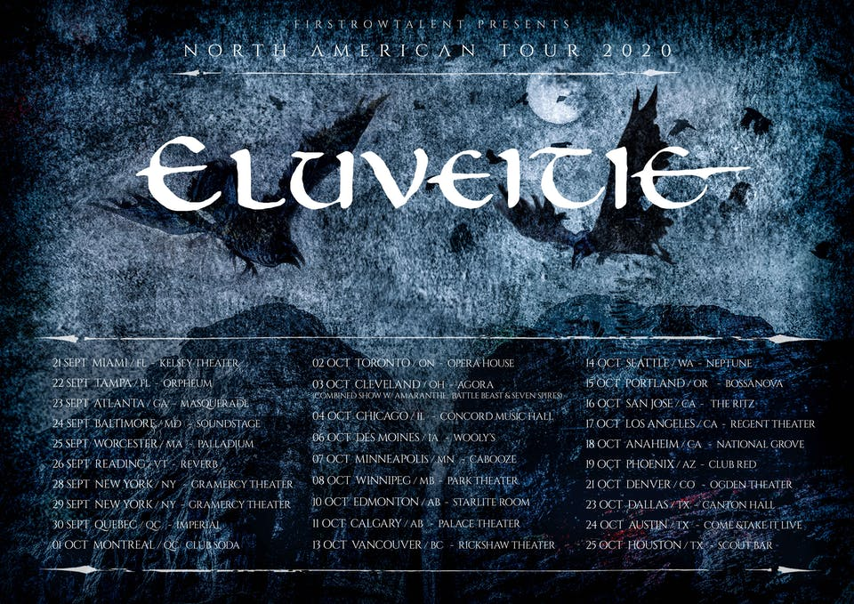 Eluveitie in West Palm Beach