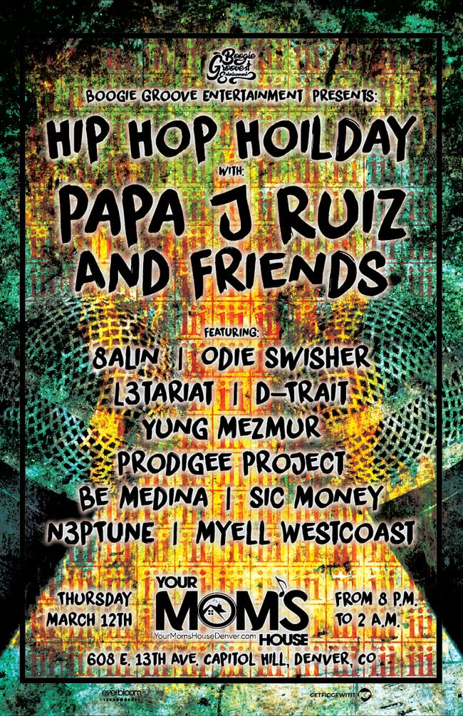 HipHopHoliday feat. Papa J Ruiz & Friends