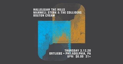Hallelujah the Hills / Maxwell Stern + Co. / Boston Cream
