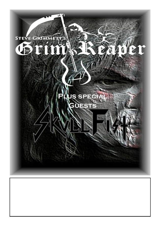 Steve Grimmett's Grim Reaper & Skull Fist