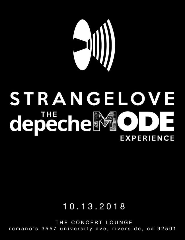 Strange Love Tribute to Depeche Mode