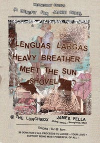 A Benefit for Jackie Cruz  w/ Lenguas Largas, Heavy Breather and More