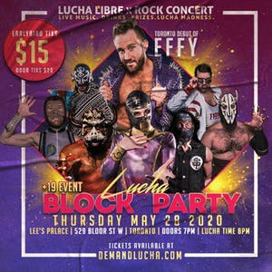Lucha Libre x Rock Show: Lucha Block Party