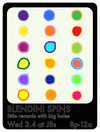 DJ Blendini spins little records with big holes