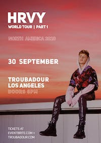 HRVY: World Tour I Part 1----CANCELED