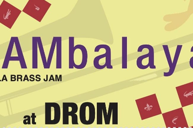[CANCELLED] JAMbalaya with Brass Monkeys, Underground Horns