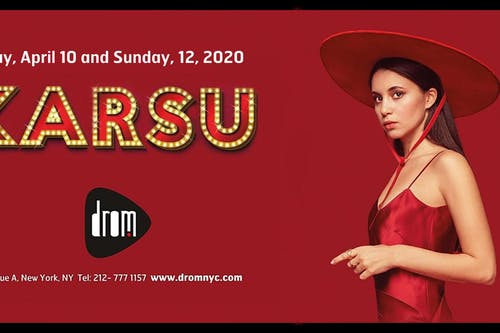 KARSU - 2nd Show Added!