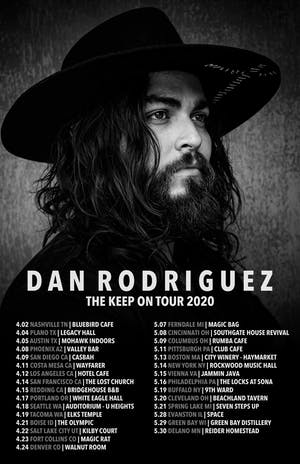 Dan Rodriguez (RESCHEDULED FOR 06/05/20)