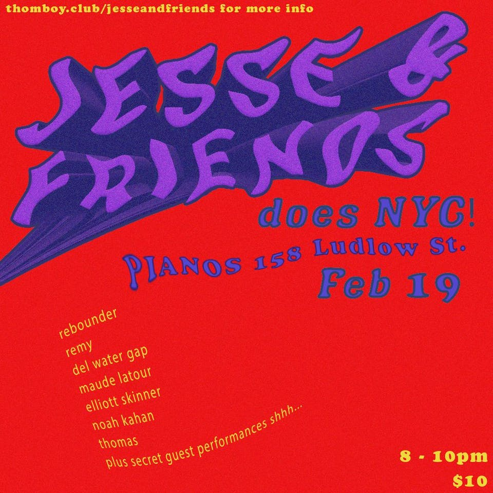 Jesse & Friends NYC