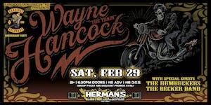 "WAYNE ""THE TRAIN"" HANCOCK w/ The Humbuckers | The Becker Band"