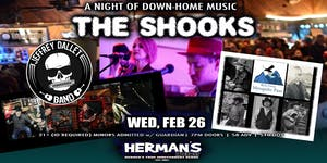 THE SHOOKS | JEFFREY DALLET BAND | MOSQUITO PASS