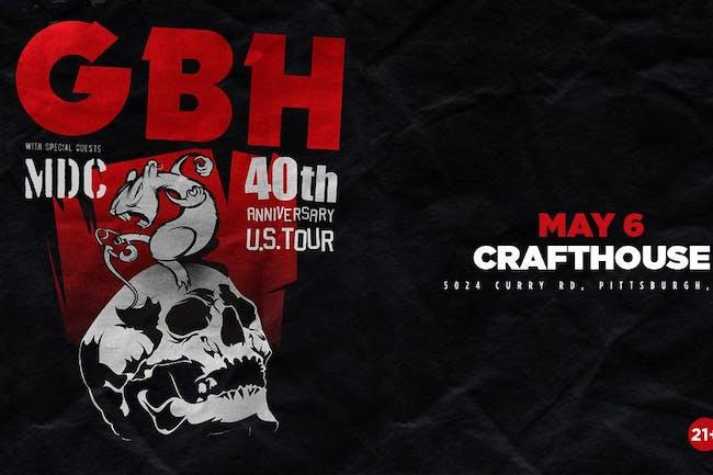 GBH - 40th Anniversary Tour