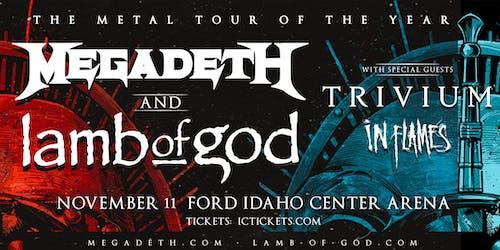 Megadeth / Lamb of God