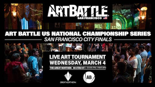 Art Battle San Francisco City Finals - March 4, 2020