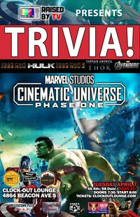 Marvel Films Trivia : Phase 1