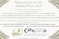 Tellus360 Wedding Preview Event