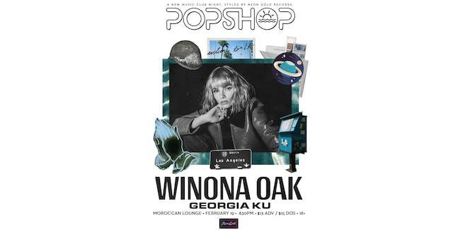 Popshop West: Winona Oak (Early Show)