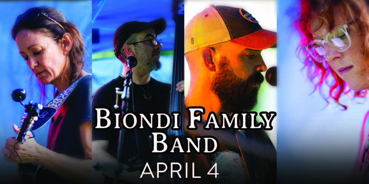 Biondi Family Band **All Ages Matinee**
