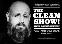 THE CLEAN SHOW: Clean Jokes, Cheap Drinks, Big Laughs!