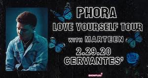 Phora - Love Yourself Tour w/ Marteen