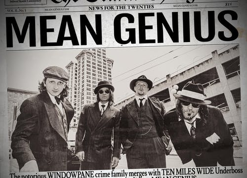 Mean Genius (Featuring members of Windowpane & Ten Miles Wide)
