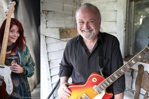 Carolyn Wonderland w/ Tinsley Ellis