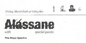 ALASSANE 'YIELD' ALBUM RELEASE PARTY w/ THE MAYA SPECTRA + HERBERT WALKER