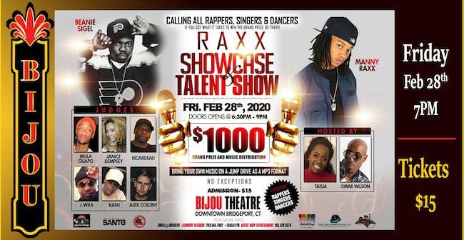 Raxx Showcase & Talent Show