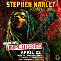 An Evening With Stephen Marley Acoustic Soul