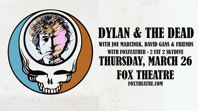 DYLAN & THE DEAD feat. JOE MARCINEK, DAVID GANS & FRIENDS with FOXFEATHER