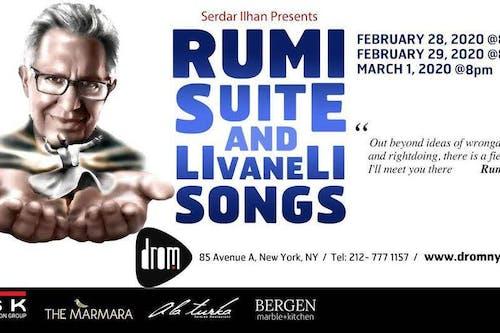 Rumi Suite and Livaneli Songs: Featuring Zülfü Livaneli