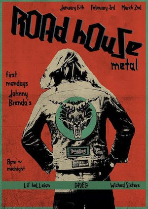 Roadhouse Metal Monday with Wicked Sisters DJs