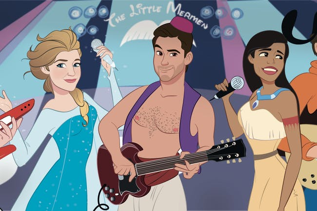 The Little Mermen - The Ultimate Disney Party
