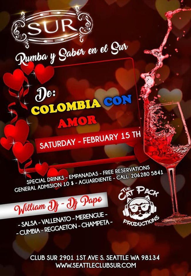 DE COLOMBIA CON AMOR! CatPack Rumba