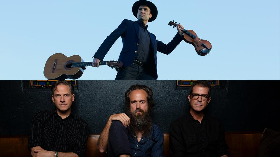 Andrew Bird, Calexico and Iron & Wine