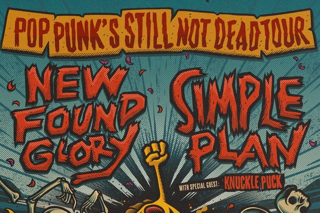 New Found Glory / Simple Plan - Pop Punk's Still Not Dead Tour