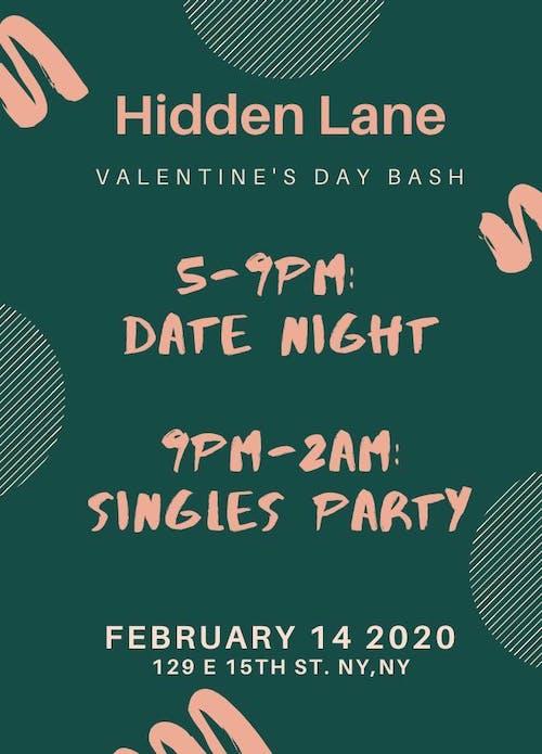 Valentine's Day Bash at Hidden Lane