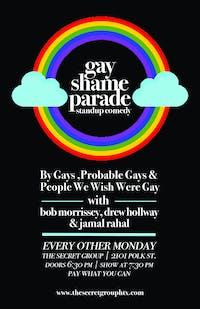 GAY SHAME PARADE: LGBTQ Standup Comedy Show