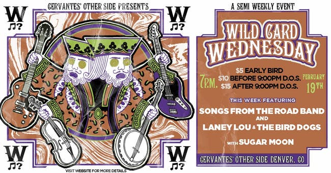 Songs From The Road Band & Laney Lou and the Bird Dogs w/ Sugar Moon