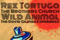 Rex Tortuga, The Brothers Church, Wild Animal, The David Gilman Experience
