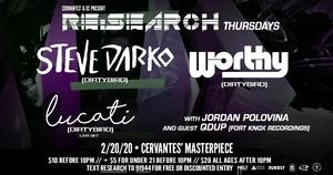 RE:Search ft. Steve Darko (Dirtybird) & Worthy (Dirtybird) w/ Lucati
