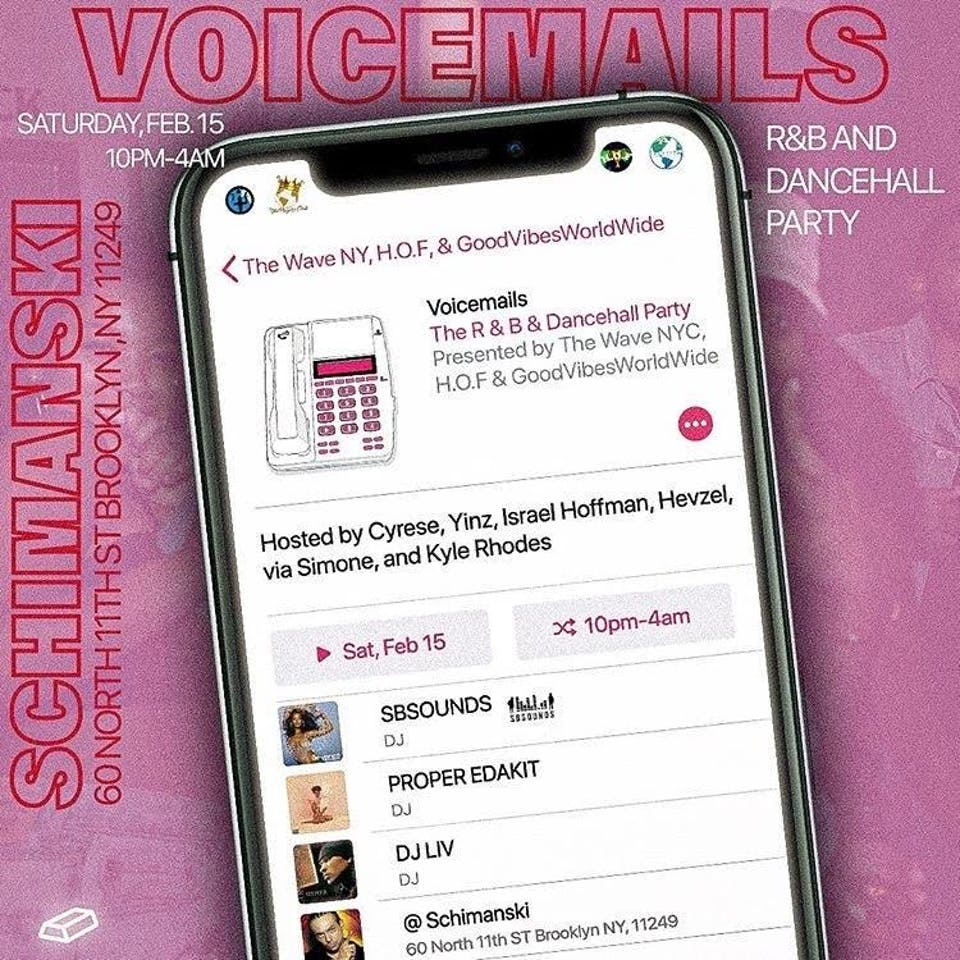 Voicemails: R&B and Dancehall