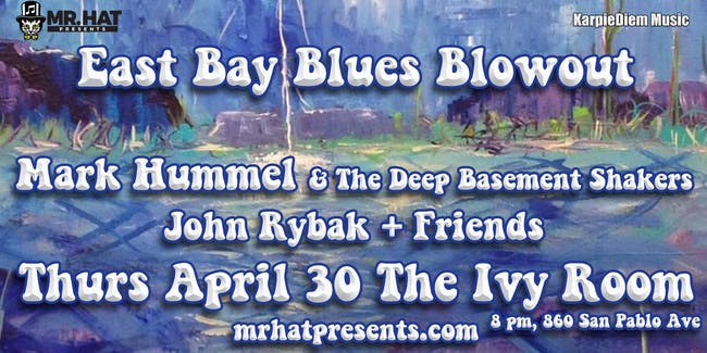 Mark Hummel & The Deep Basement Shakers with John Rybak + Friends