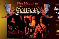 Santana Tribute - Sacred Fire