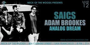 SAICS, Adam Brookes, Analog Dream