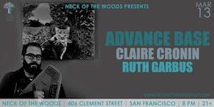 Advance Base, Claire Cronin, Ruth Garbus